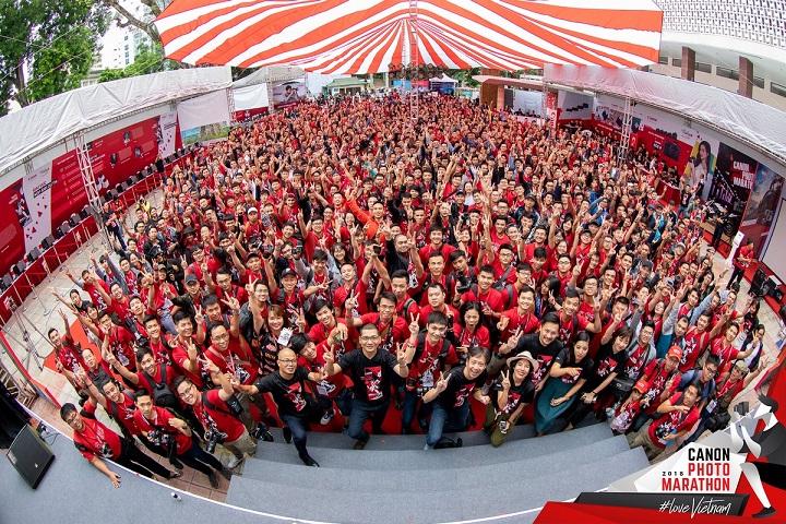Canon PhotoMarathon mùa thứ 13 khai màn tại Hà Nội, gần 4000 thí sinh tham dự