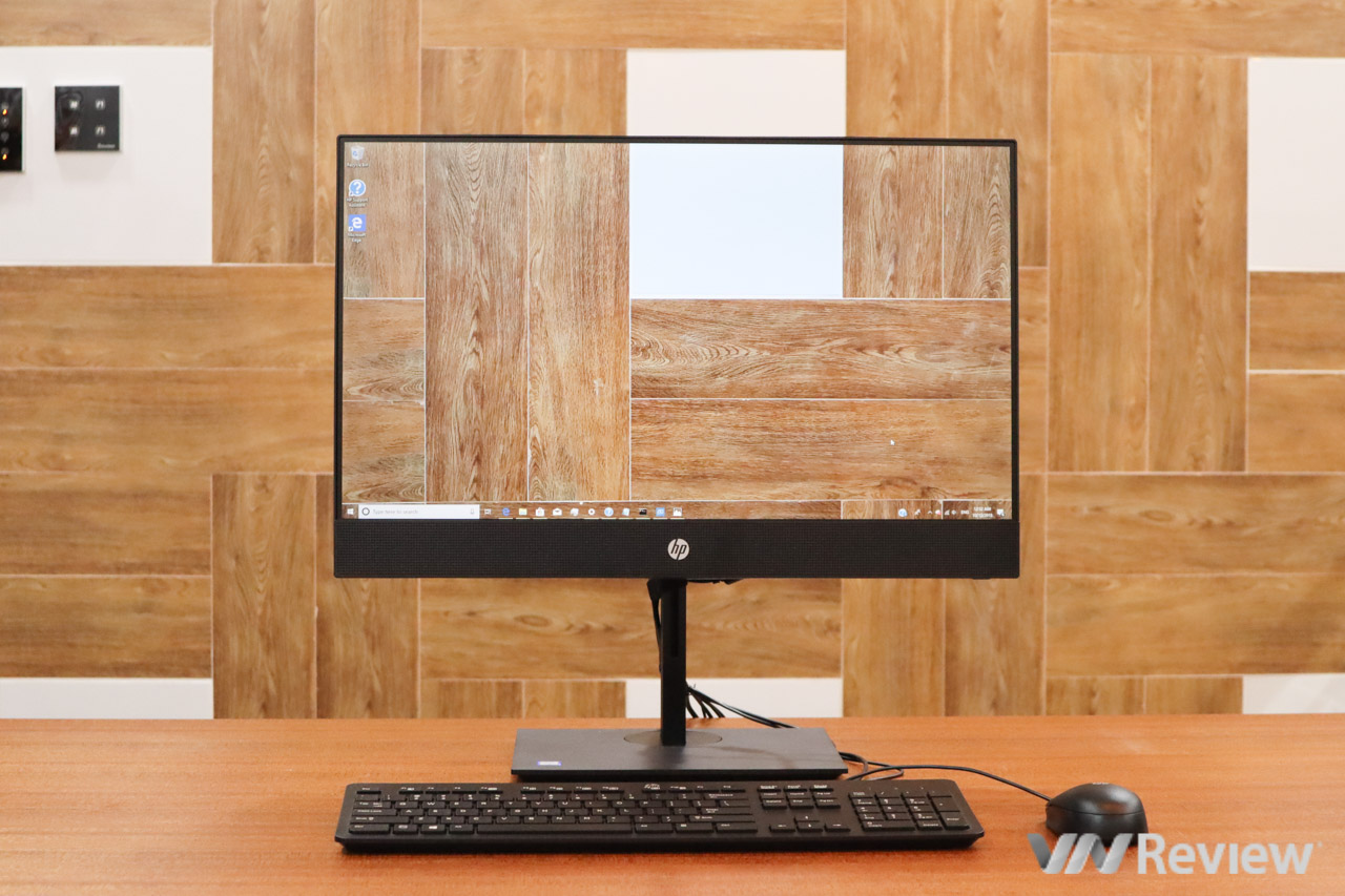 """Đánh giá HP ProOne 400 G4 23.8"""": PC All-in-One viền mỏng, webcam """"thò thụt"""" độc đáo"""
