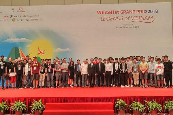 Tuyển Nga giành chiến thắng cuộc thi an toàn không gian mạng toàn cầu WhiteHat Grand Prix 2018