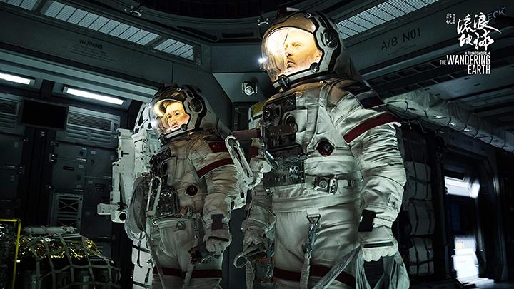 The Wandering Earth  bộ phim khoa học viễn tưởng bom tấn đầu tiên của Trung Quốc