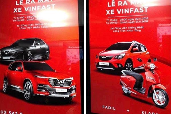 Xe ô tô giá rẻ của VinFast lộ diện, sẽ có tên VinFast Fadil?