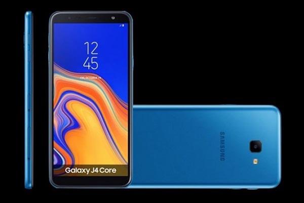 Samsung ra mắt Galaxy J4 Core, smartphone thứ hai của hãng chạy Android Go