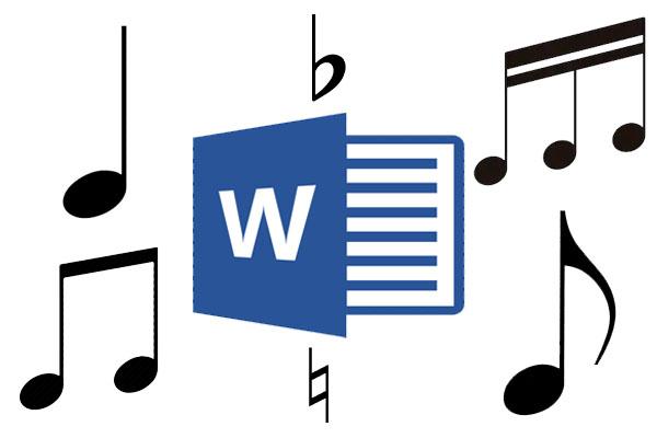 Làm sao để chèn nốt nhạc vào file Word?