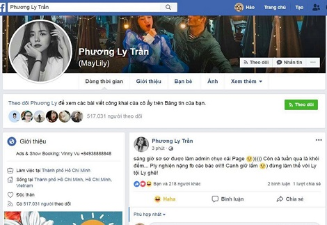 Nhiều nghệ sĩ Việt khóa Facebook vì sợ bị đánh sập