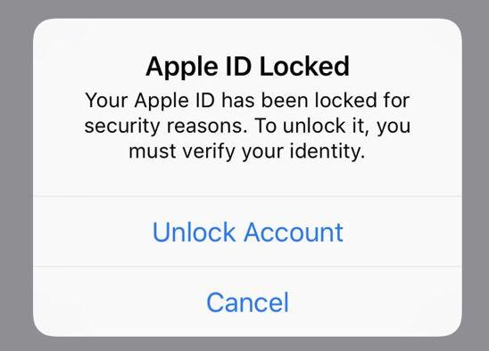 Tại sao một loạt tài khoản Apple ID bị khoá?