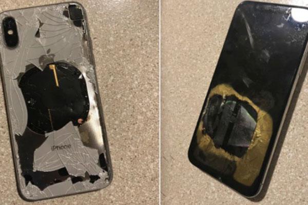 Mỹ: iPhone X bốc cháy sau khi cập nhật iOS 12.1