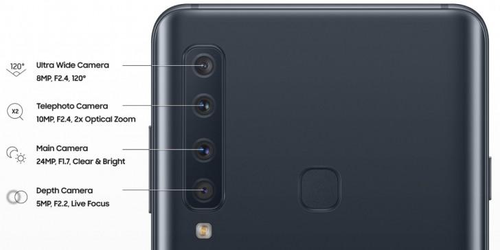 Smartphone 4 camera sau Galaxy A9 2018 có giá 12,49 triệu đồng ở VN, mua sớm tặng tai nghe Gear Icon (2018)