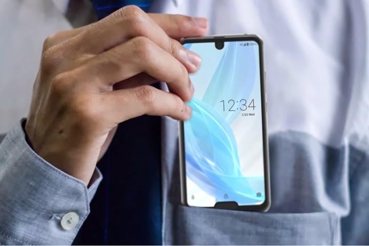 Sharp trình làng smartphone có cả tai thỏ lẫn giọt nước AQUOS R2