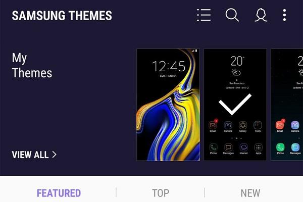 Samsung sắp tới chỉ miễn phí theme trong 14 ngày trên Android Pie