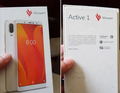 Lộ diện smartphone đầu tiên của Vingroup cực chất