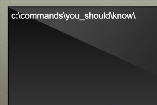14 dòng mã CMD trên Windows mà bạn không thể không biết