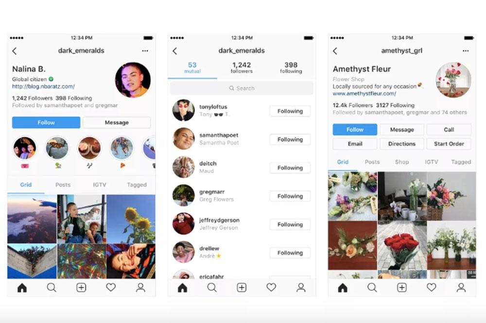 Instagram thử nghiệm thiết kế trang cá nhân mới, làm nổi bật tên và thông tin người dùng