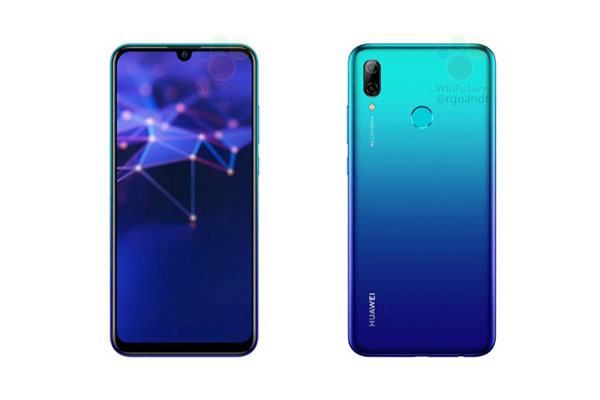 """Rò rỉ Huawei P Smart 2019 với màn hình """"giọt nước"""", chip Kirin 710"""
