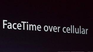 iOS 6 bổ sung FaceTime qua mạng di động
