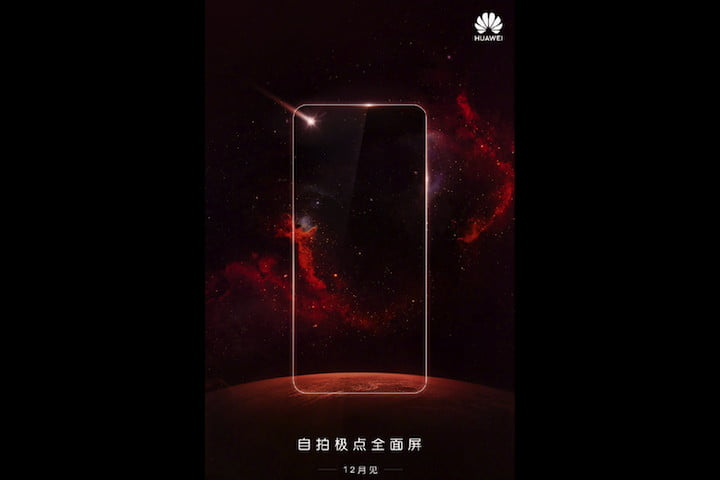 """Huawei Nova 4 sẽ có thiết kế màn hình """"nốt ruồi"""" giống Samsung?"""