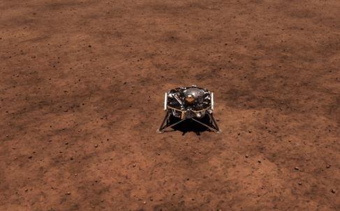 """Tàu Insight của NASA đã đáp xuống sao Hoả sau """"7 phút khủng bố"""""""