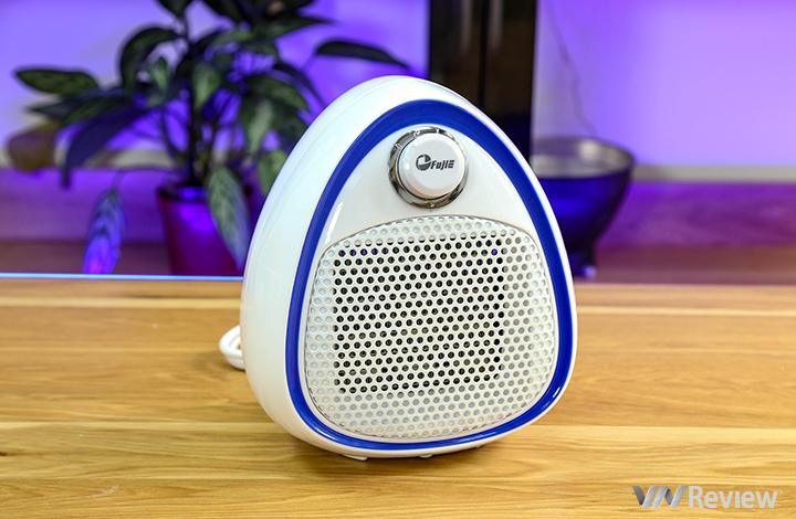 """Trên tay quạt sưởi gốm Ceramic Mini FujiE CH-202: dùng cho phòng nhỏ, giá """"sinh viên"""" chỉ hơn 400 ngàn đồng"""