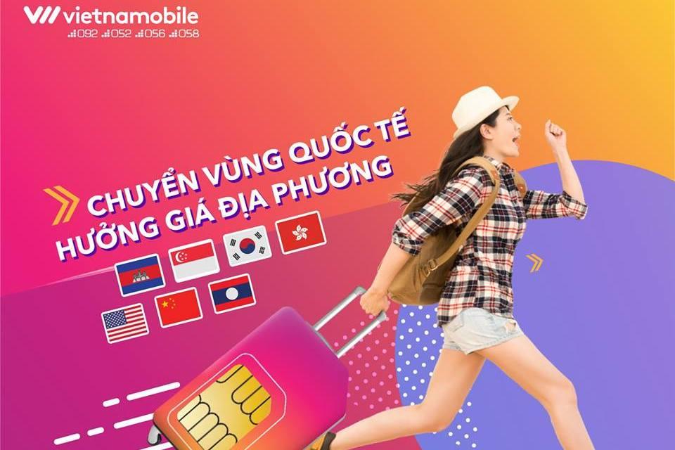 Vietnamobile tung gói cước Roam Like Home: Roaming thoại và data từ nước ngoài giá rẻ tương đương Việt Nam