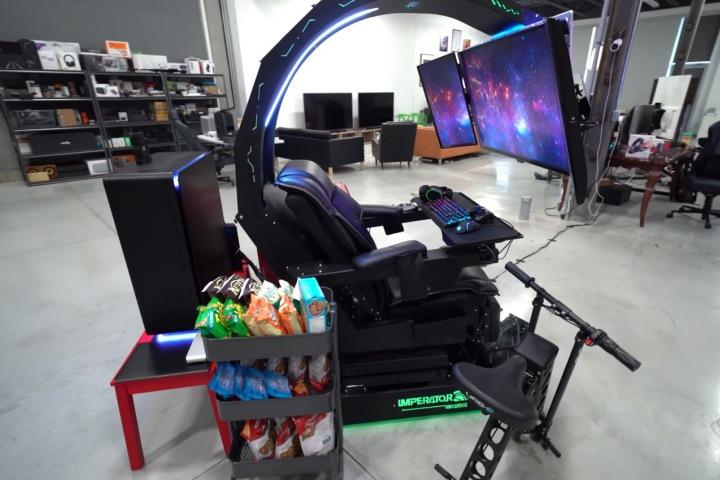 Cá là bạn chưa bao giờ thấy cỗ máy chiến game nào điên rồ như cỗ máy 30.000 USD này