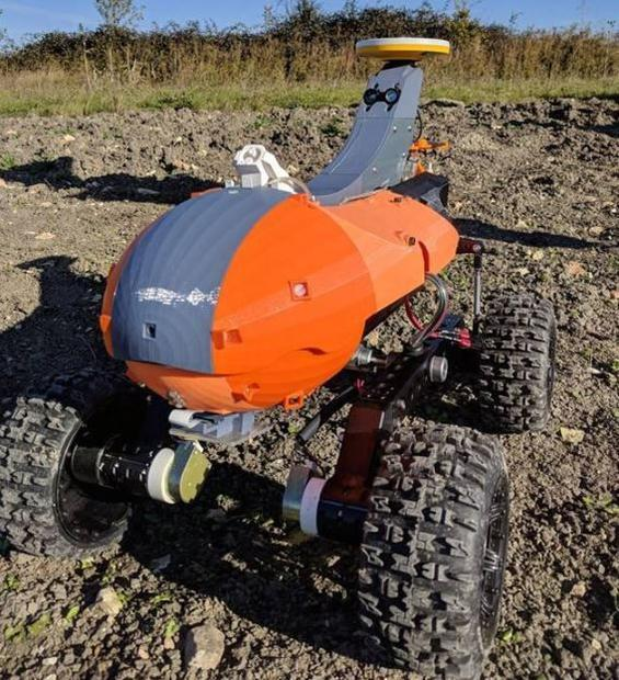 Sử dụng robot trí tuệ nhân tạo giúp nông dân vừa nhàn vừa hiệu quả