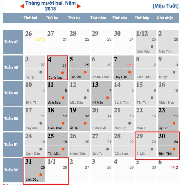 Tại sao Tết dương lịch 2019 được nghỉ 4 ngày?