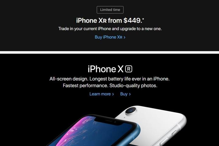 Apple hoảng loạn, giảm giá iPhone XR đến 500 USD cho người dùng đổi iPhone cũ