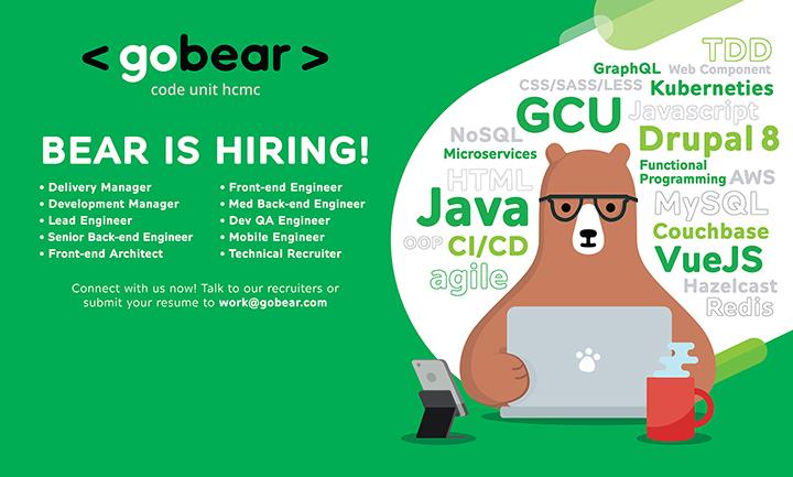 GoBear đẩy mạnh thu hút nhân lực IT tại Việt Nam để phục vụ thị trường Đông Nam Á