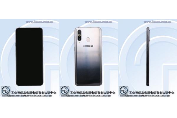 Galaxy A8s lộ cấu hình với 3 camera sau, thiết kế giống nhiều máy Trung Quốc