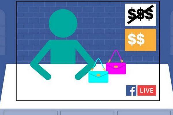 Facebook thử nghiệm tính năng livestream mới, hỗ trợ dân bán hàng online