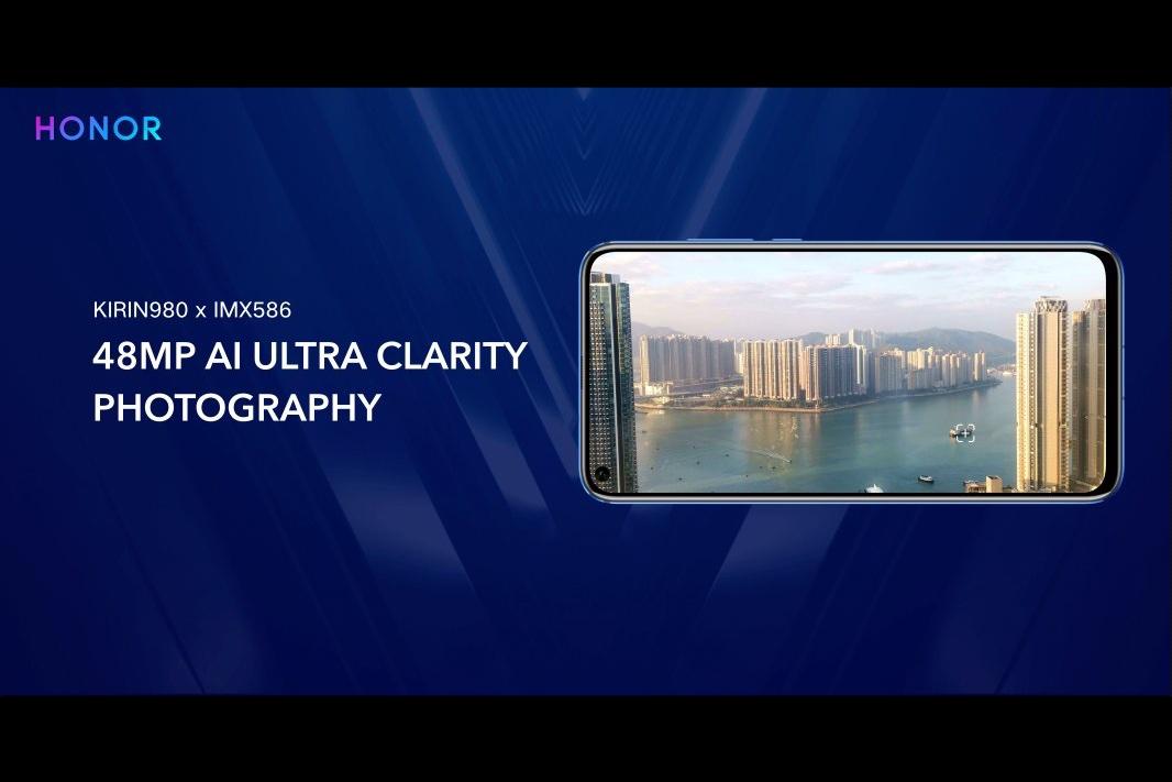"""Honor View 20: camera selfie """"nốt ruồi"""" trong màn hình gọn hơn Samsung, camera chính 48MP cảm biến Sony IMX586"""