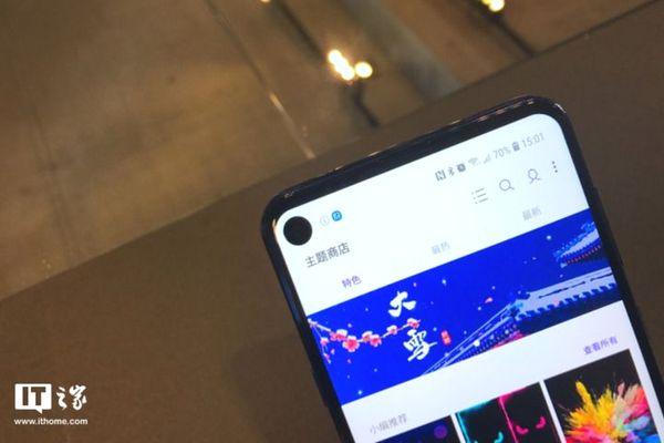 Samsung ra mắt Galaxy A8s: Màn hình nốt ruồi đầu tiên, chip Snapdragon 710, 3 camera sau