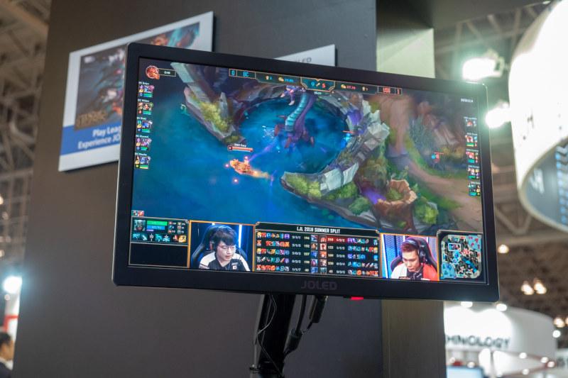 JOLED trưng bày màn hình OLED sản xuất bằng quy trình in phun, TV 4K 55 inch, đồ họa, gaming