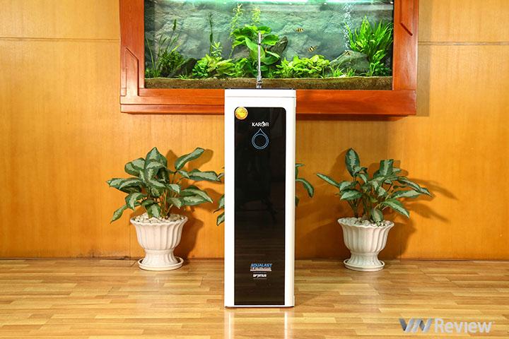 """Đánh giá máy lọc nước Karofi Optimus i2: rất nhỏ gọn, vừa sạch vừa """"khôn"""""""