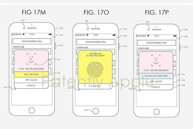 iPhone sẽ có cả Face ID và Touch ID?