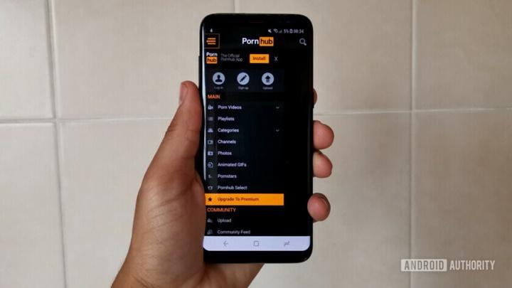 Người dùng phiên bản Android nào truy cập Pornhub nhiều nhất năm 2018?