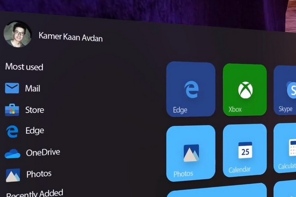 Concept Windows 11 đẹp mê hồn với nét pha trộn giữa Windows và MacOS