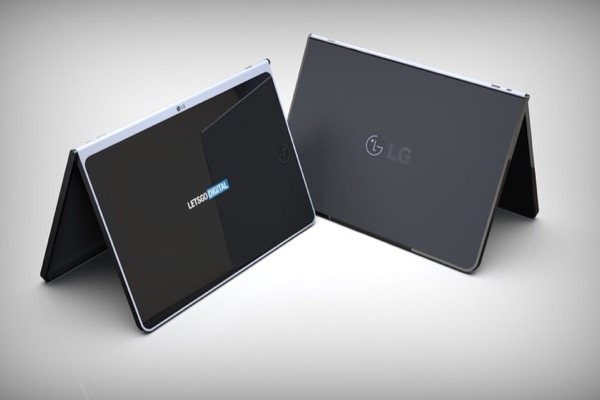 Rò rỉ tablet mới của LG: viền màn hình mỏng, có bàn phím rời