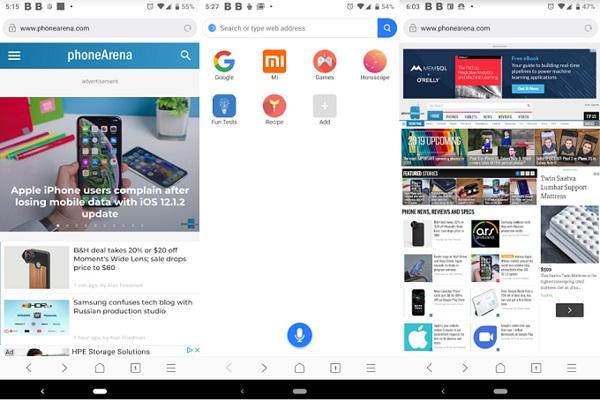 Xiaomi tung ra trình duyệt Mint, dung lượng cực nhẹ chỉ 11MB