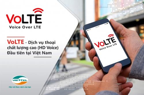 Viettel ra dịch vụ VoLTE - gọi thoại chất lượng cao qua mạng 4G LTE