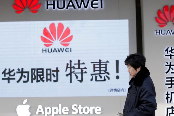 Công ty Trung Quốc thông báo 'tẩy chay Apple, ủng hộ Huawei'