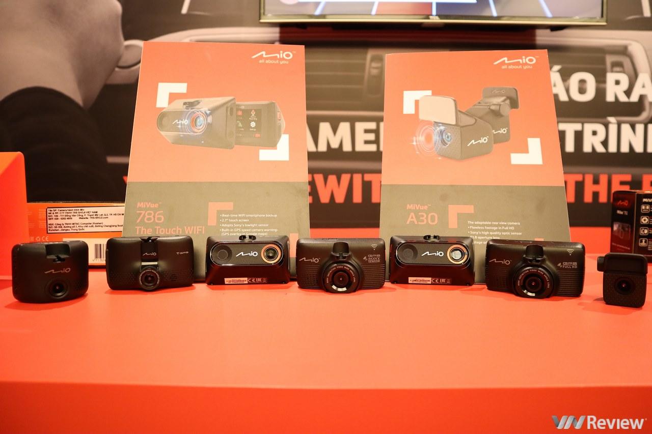 Camera hành trình thương hiệu Mio chính thức chào sân thị trường VN, giá khởi điểm từ khoảng 2,8 triệu đồng