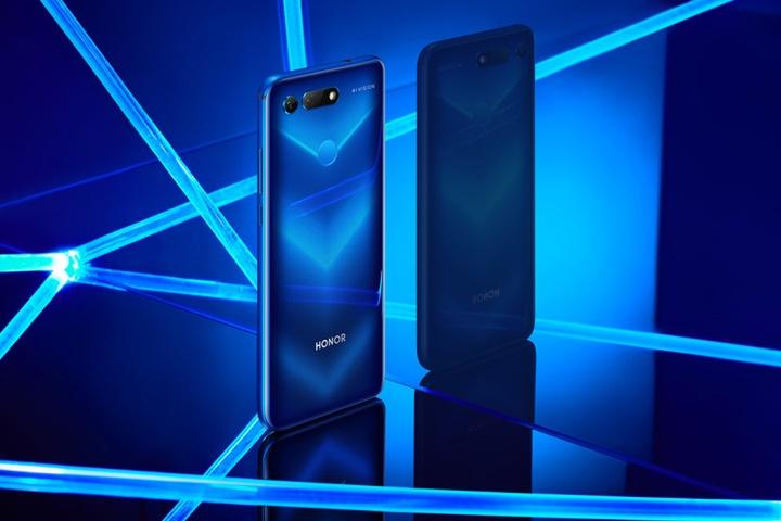 Honor V20 (View 20) ra mắt: smartphone đầu tiên trên thế giới sử dụng cảm biến 48 MP