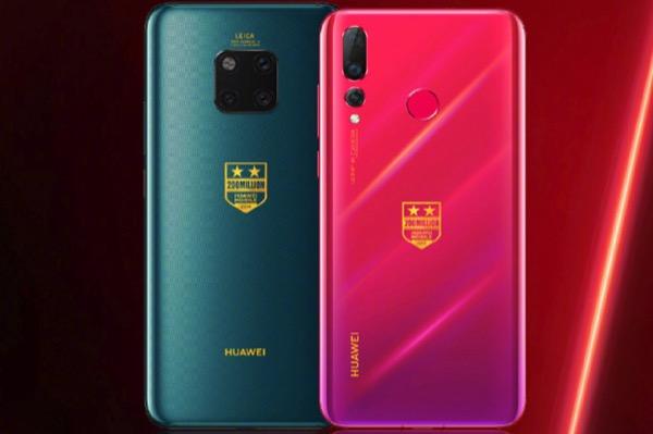 Huawei ra mắt Mate 20 Pro và Nova 4 phiên bản đặc biệt kỷ niệm bán được 200 triệu máy