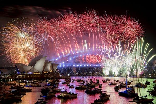 Chùm ảnh không khí đón chào năm mới 2019 trên toàn thế giới