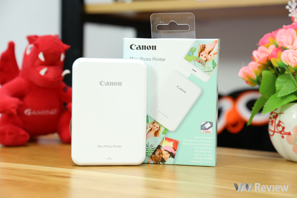 Trên tay máy in ảnh Canon Mini Photo Printer PV-123: in ảnh dễ hơn ăn kẹo