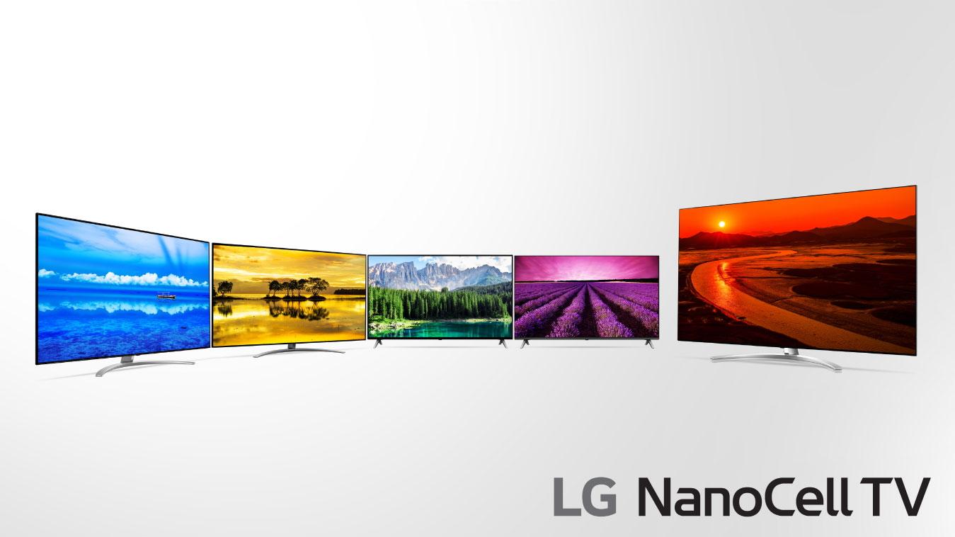 """[CES 2019] LG """"nổ súng"""" với loạt TV NanoCell mới, flagship LCD 8K đầu tiên"""