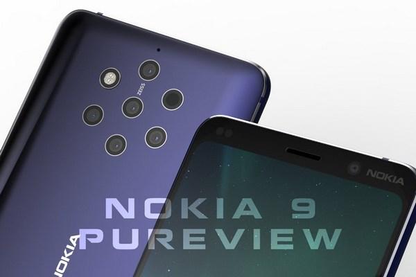Smartphone 5 camera Nokia 9 PureView sẽ dùng chip Snapdragon 845, ra mắt cuối tháng 1/2019, giá từ 20 triệu đồng?