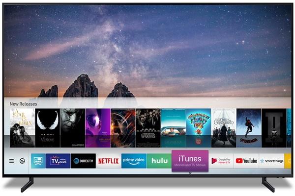 Smart TV của Samsung bất ngờ hỗ trợ iTunes và AirPlay 2