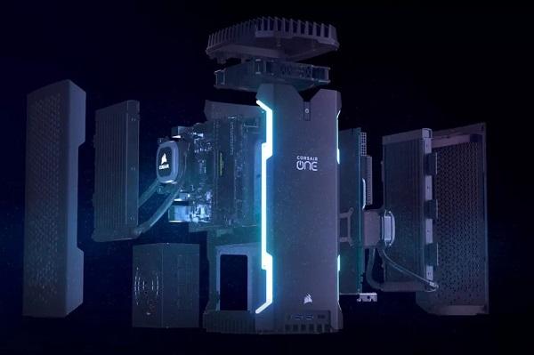 [CES 2019] Corsair giới thiệu desktop gaming siêu nhỏ gọn, chip Core i9 và card GeForce RTX