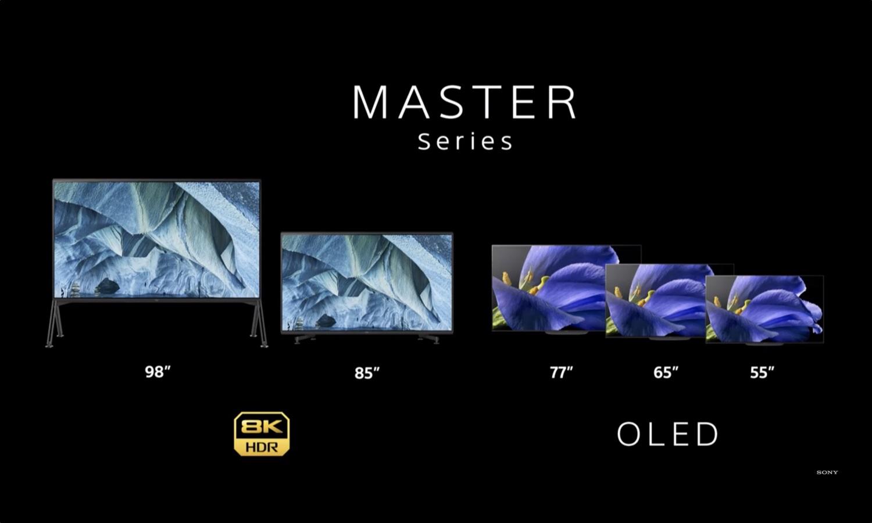 """[CES 2019] Sony ra mắt TV 8K """"khổng lồ"""" 98 inch, tương phản gấp 20 lần TV LCD thông thường"""